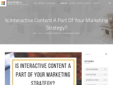 Is Interactive Content A Part Of Your Marketing Strategy?