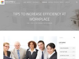 TIPS TO INCREASE EFFICIENCY AT WORKPLACE