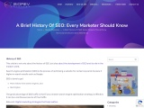 A Brief History Of SEO: Every Marketer Should Know
