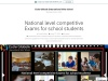 National level competitive Exams for school students