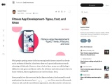 Fitness App Development- Types, Cost, and Ideas