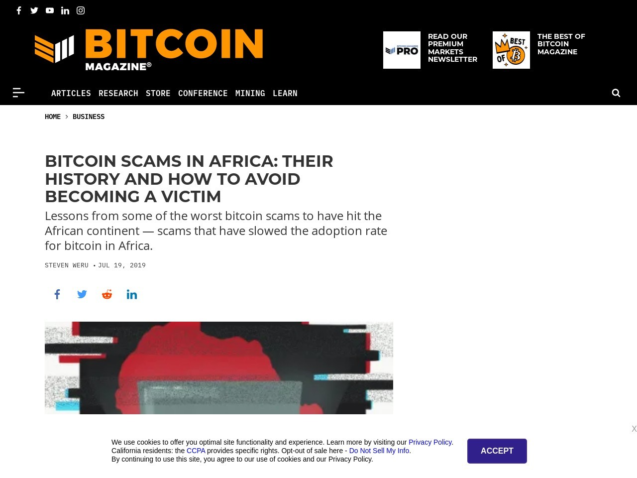 Bitcoin Scams in Africa: Their History and How to Avoid Becoming a Victim