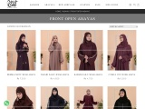 Front Open Abayas Styles In Pakistan