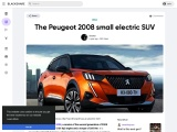 The new Peugeot 2008 small electric SUV