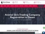Animal Skin Trading Company Registration in Oman