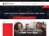 How To Setup Company In DWC Free Zone