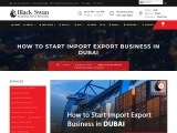 How to Start Import Export Business in Dubai