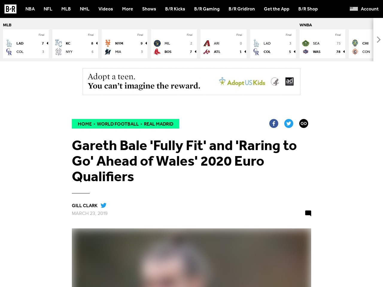 Gareth Bale 'Fully Fit' and 'Raring to Go' Ahead of Wales' 2020 Euro…