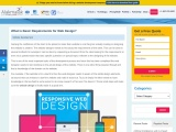 What is Basic Requirements for Web Design?