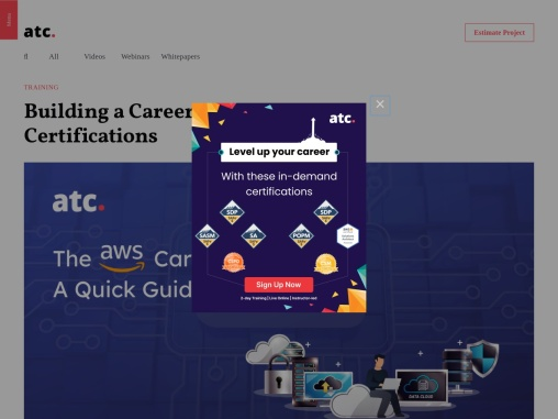 Building a Career with AWS Certifications
