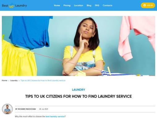 Tips To UK Citizens For How To Find Laundry Service