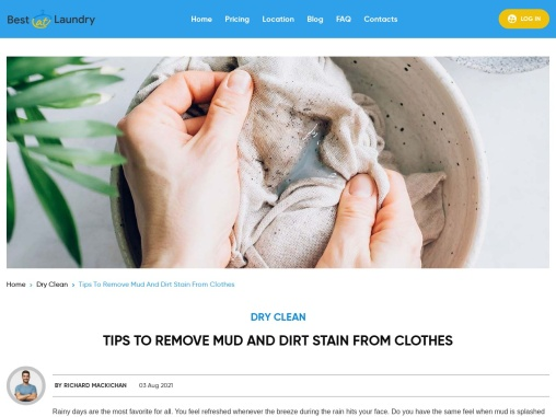 Tips To Remove Mud And Dirt Stain From Clothes