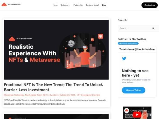 Token creation service with blockchain