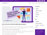 Shopify Readymade Theme development Company – CartCoders