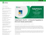 TallyPrime's 'Go To' – A Powerful Capability to Discover Easily and Do More