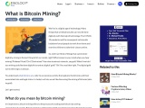 What do you mean by bitcoin mining?