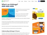 What is an Arbitrage in Finance?