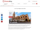 List ofTop Colleges in Lahore 2021