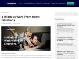 5 Hilarious Work-From-Home Situations |MazeBolt