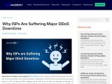 Why ISPs are Suffering Major DDoS Downtime