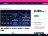 Worldwide list of DDoS attacks – March 2021 | MazeBolt Technologies