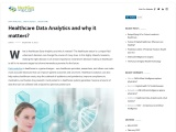 Healthcare Data Analytics and why it matters?