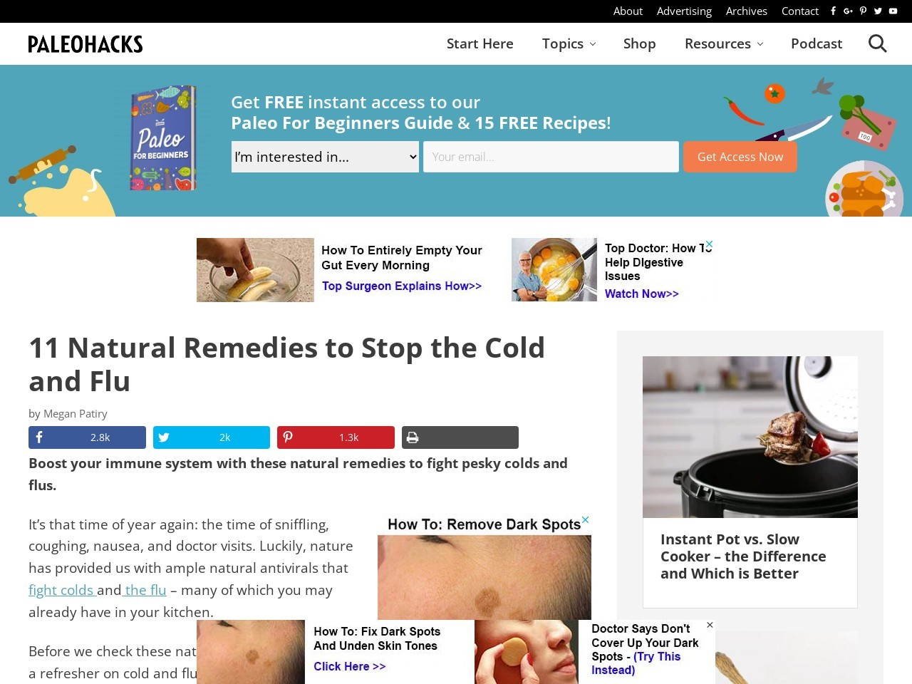 11 Natural Remedies to Stop the Cold and Flu Without Antibiotics
