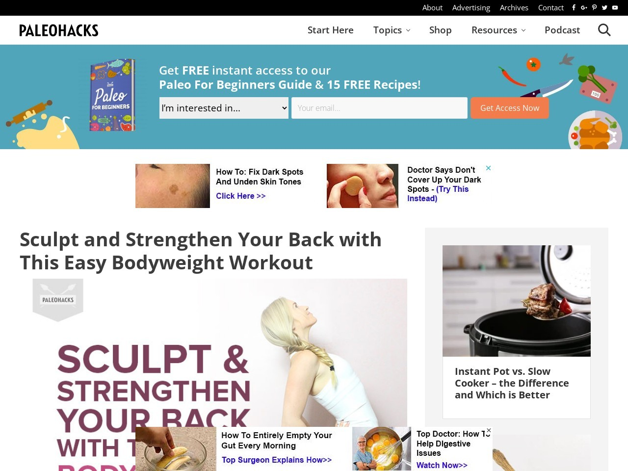 Sculpt and Strengthen Your Back with This Easy Bodyweight Workout
