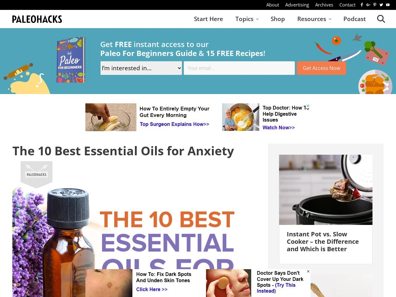 The 10 Best Essential Oils for Anxiety