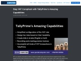 Stay VAT Compliant with TallyPrime's Amazing Capabilities Tally OMAN