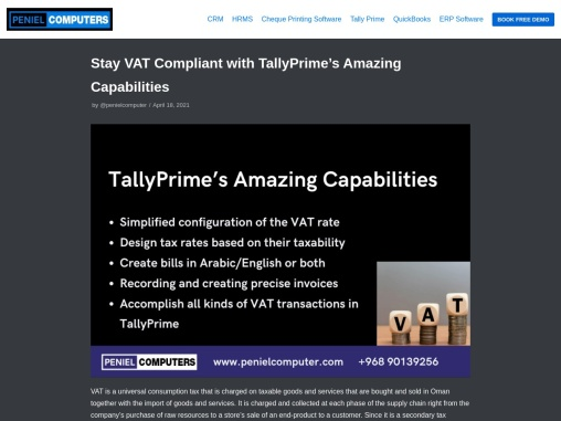 Stay VAT Compliant with TallyPrime's Amazing Capabilities