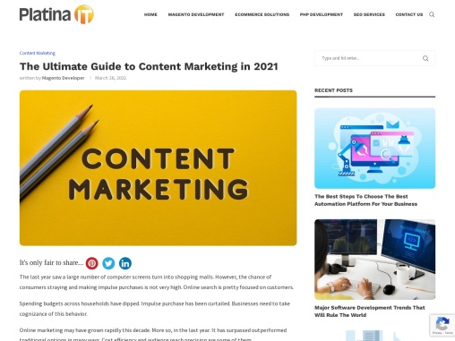 Content Marketing: The Ultimate Guide