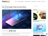 Top 7 UI UX Design Trends Follow in 2021
