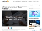 Odoo Human Resource Management System