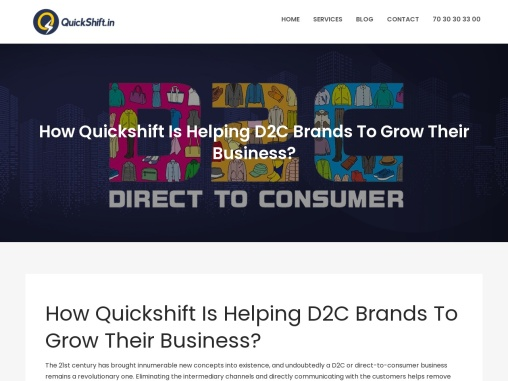 Quickshift Is Helping D2C Brands To Grow Their Business