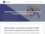 Upcoming e-commerce trends of 2021 that every business should look out for
