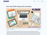 How could COVID change online schooling?
