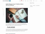 Stylish Women's Top 10 Fashion Advice – Ferruccio Milanesi