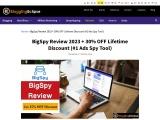 BigSpy Review | #1 Ad Spy Tool