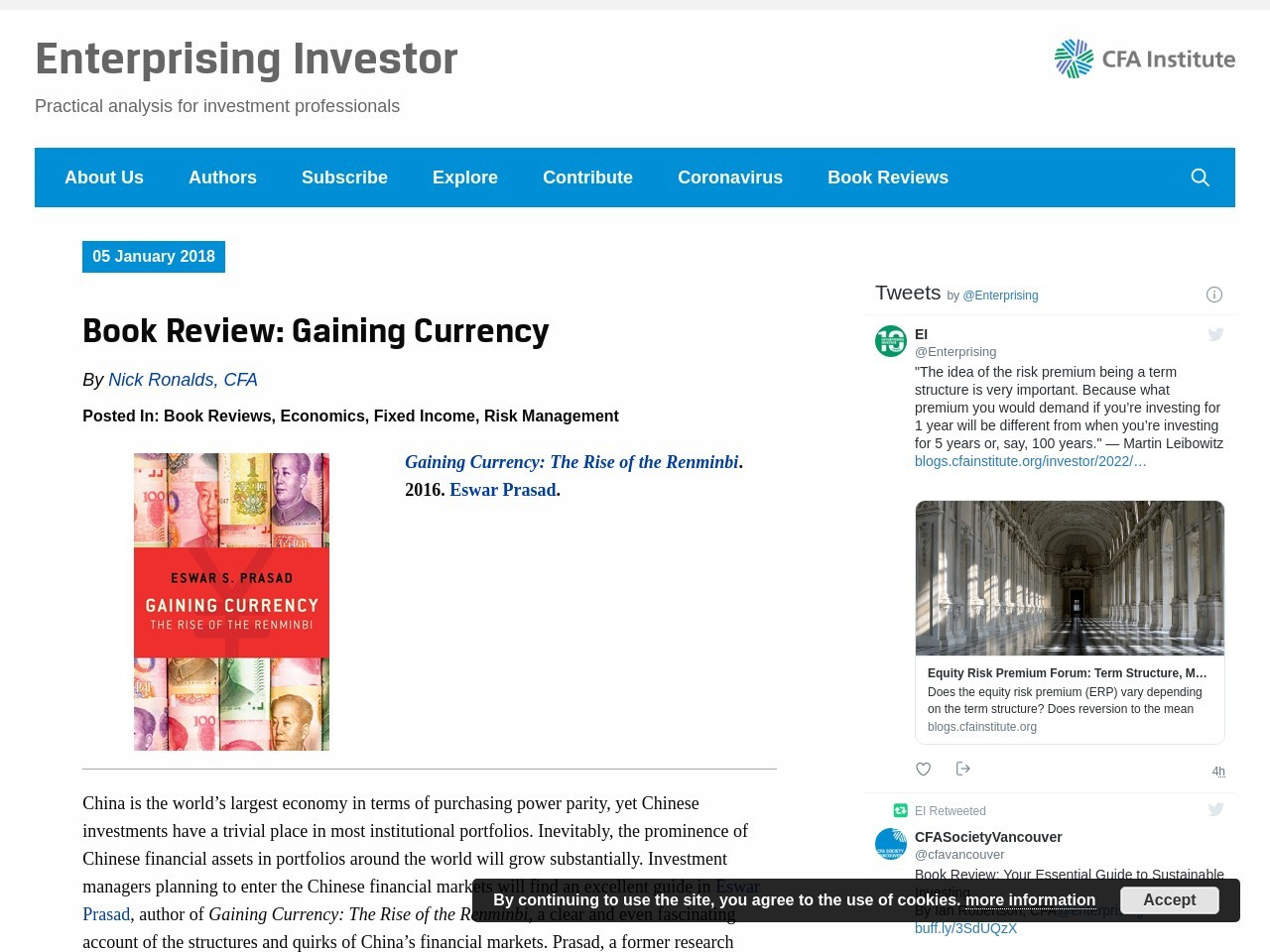 Book Review: Gaining Currency