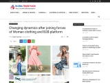 Changing dynamics after joining forces of Women clothing and B2B platform