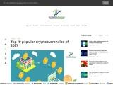 Top 10 popular cryptocurrencies of 2021