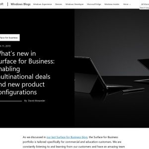 What's new in Surface for Business: enabling multinational deals and new product configurations | Microsoft Devices Blog