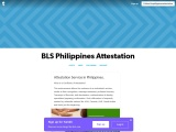 Attestation Service in Philippines.