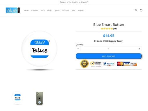 The World's Smartest Blue Smart Button