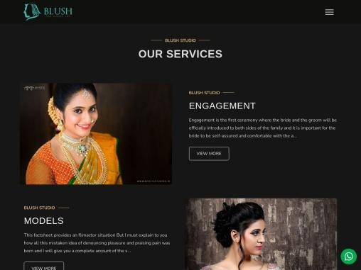 best bridal makeup artist in hyderabad Top Mackup Artist in India  Hyderabad  Bangalore-Blush Studio