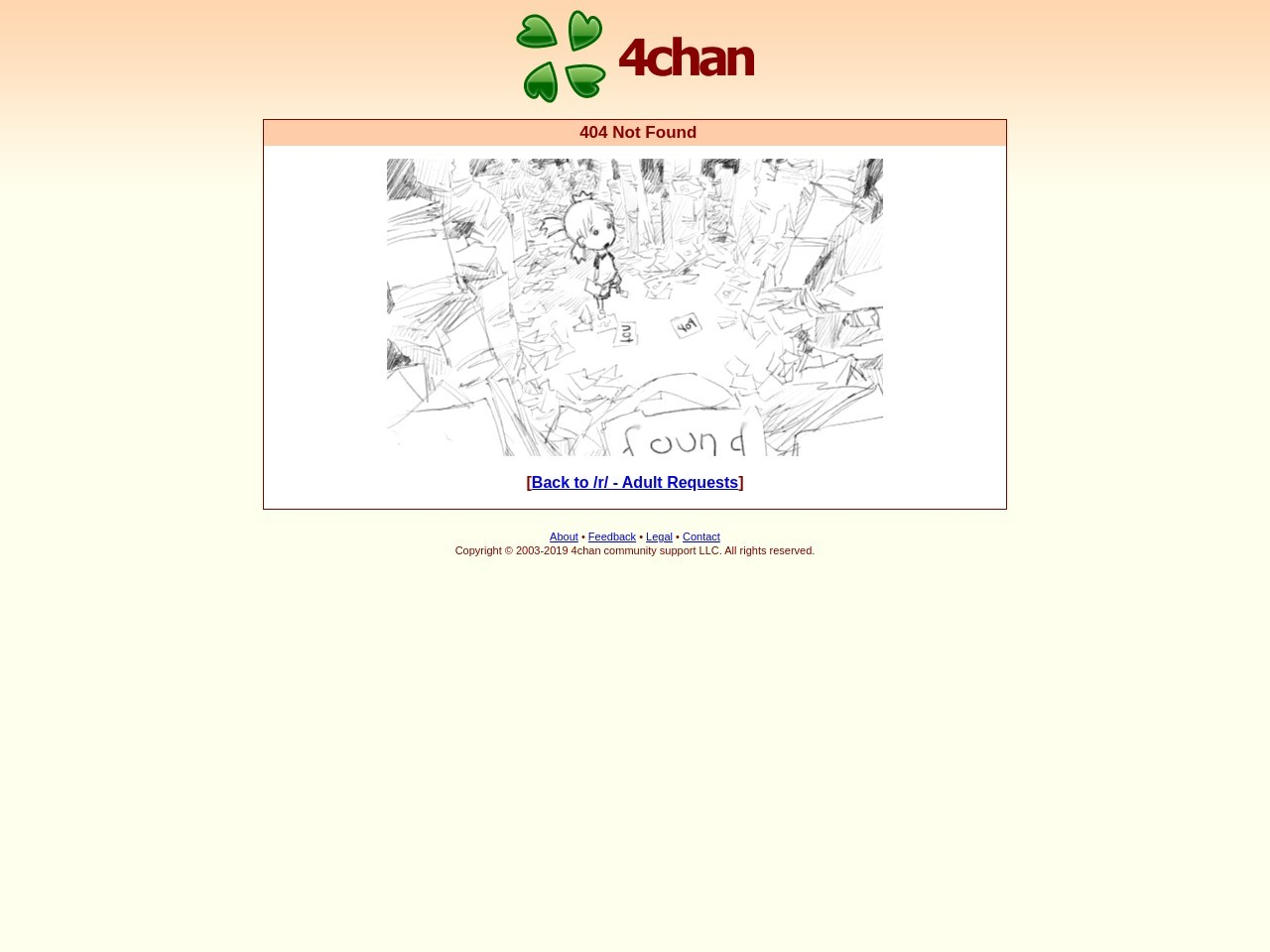 Who got it? Adult Requests 4chan