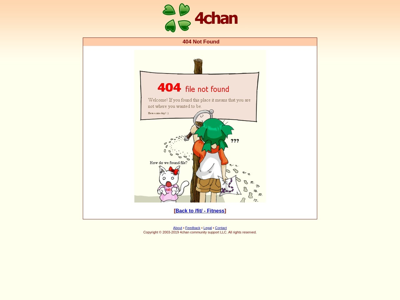 fit/ – Friday Night – Fitness – 4chan