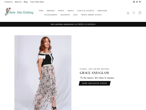 About Our Boho Gal / Boho Chic Clothing