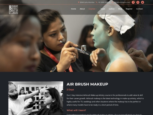 LEARN FASHION AND AIR BRUSH MAKEUP IN BSMH ACADEMY